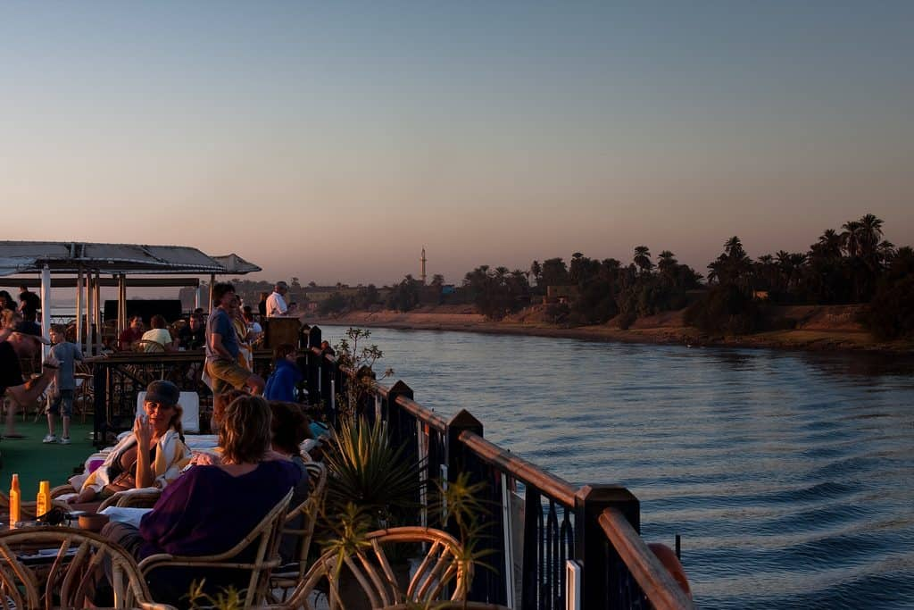 cruise across the river nile