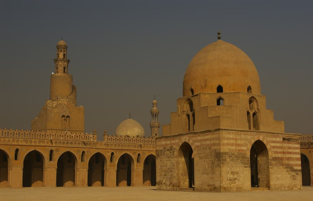 outside view of Egyptian building