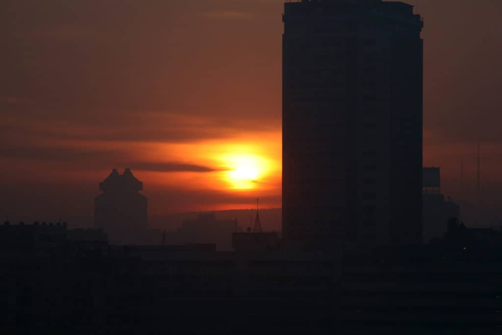 Sunrise over Cairo